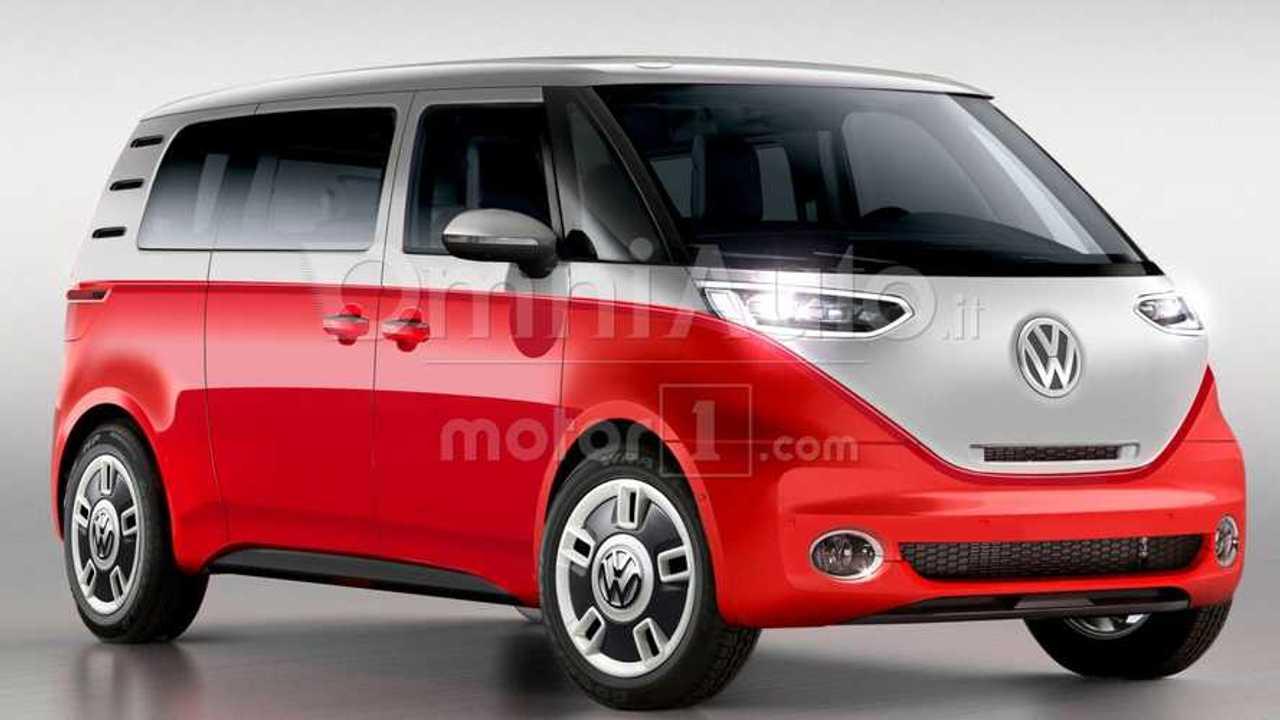 Volkswagen Bulli Rendered As Classic Electric Bus