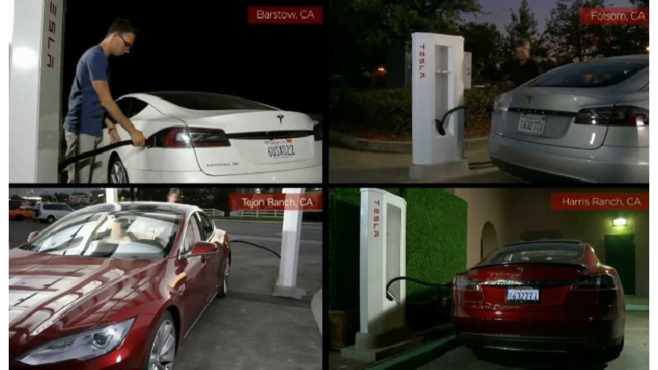 Four California Superchargers At Work