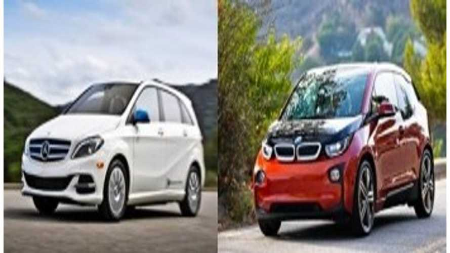 Compare/Contrast: BMW i3 Versus Mercedes-Benz B-Class Electric Drive