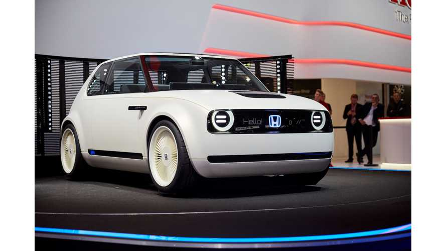 Honda Will Open Order Books For Urban EV In Early 2019