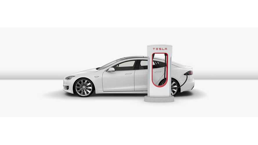 Tesla's Latest Software Update Includes Useful Supercharger Info