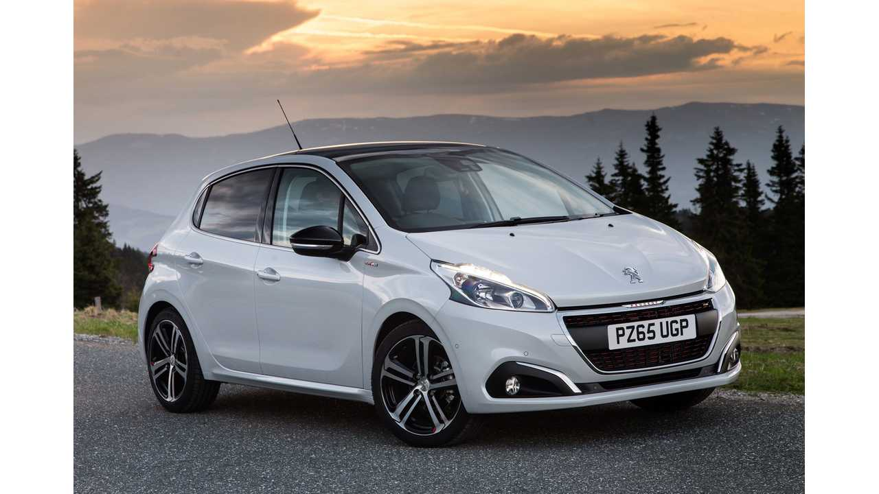 Peugeot Commits To Five New Plug-In Electric Models By 2021