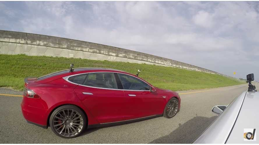 Tesla Model S P90D Ludicrous vs P85D Ludicrous – Videos