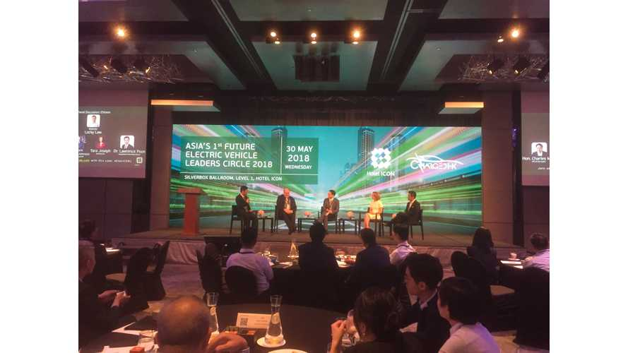 We Attend Asia's 1st Future Electric Vehicle Leaders Circle 2018