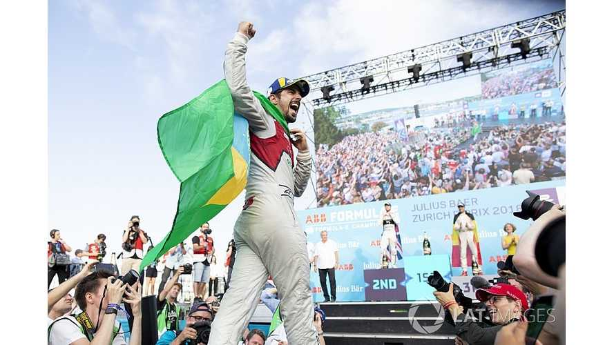 "Di Grassi Vows To ""Work Hard"" For ""Logical"" Brazil Formula E Race"