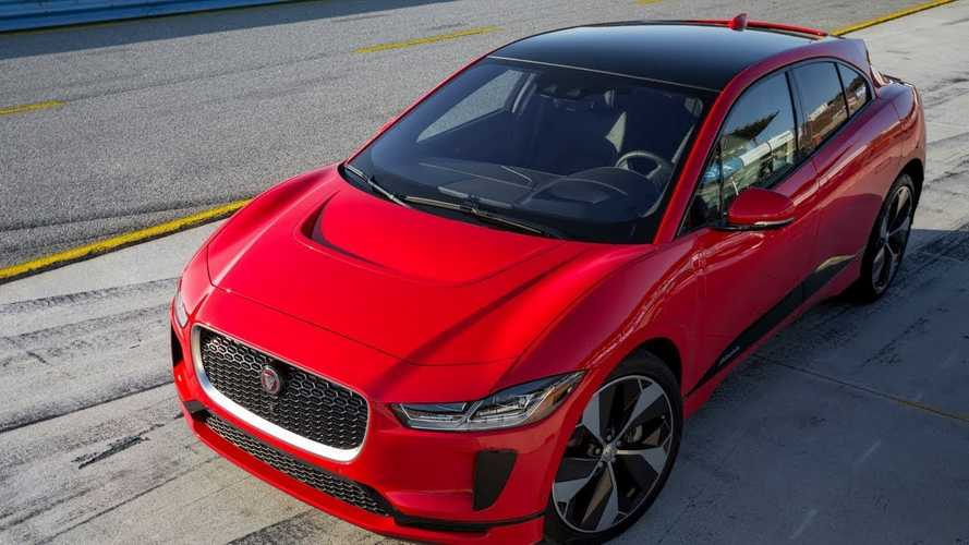 Jaguar I-Pace Sets Claimed Electric Car Lap Record At Laguna