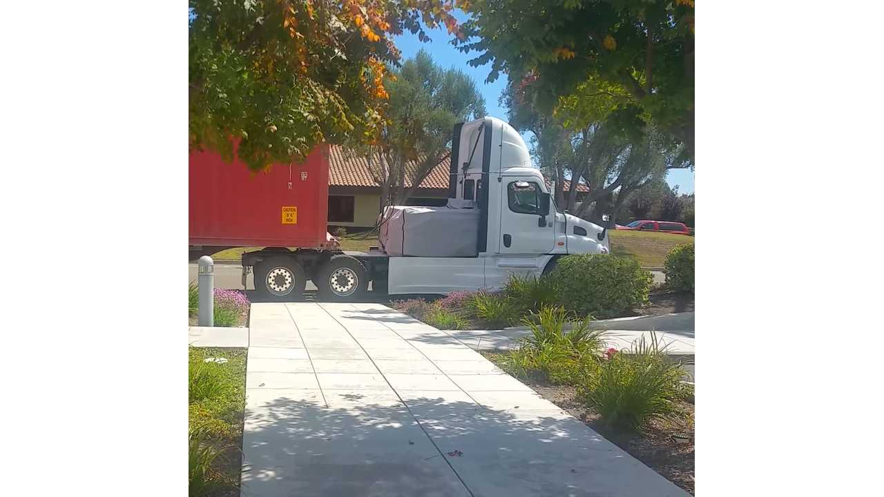 This Might Just Be A Tesla Semi Mule - Video