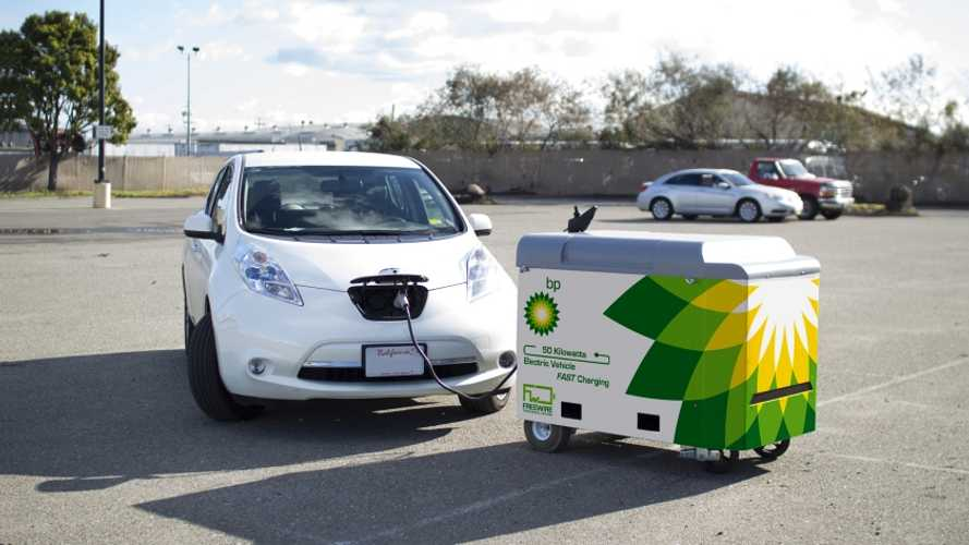 BP Invests In Mobile EV Charging Company FreeWire