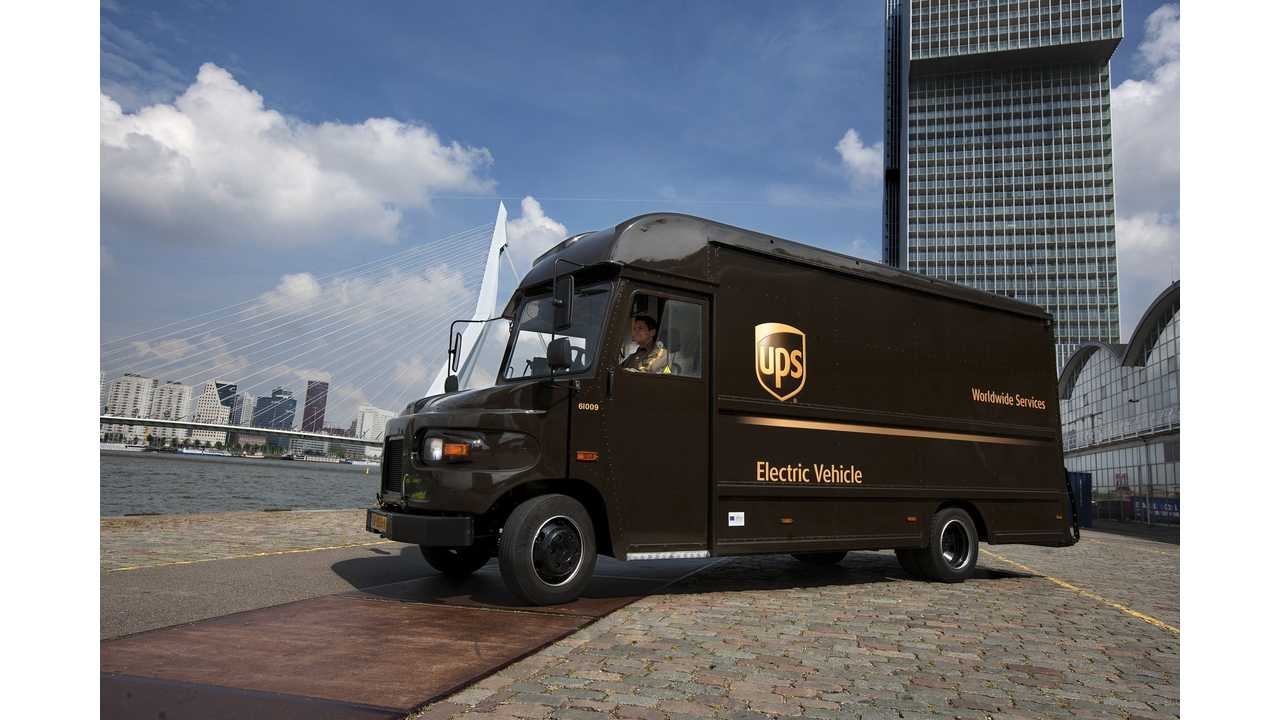 UPS - Electric package car