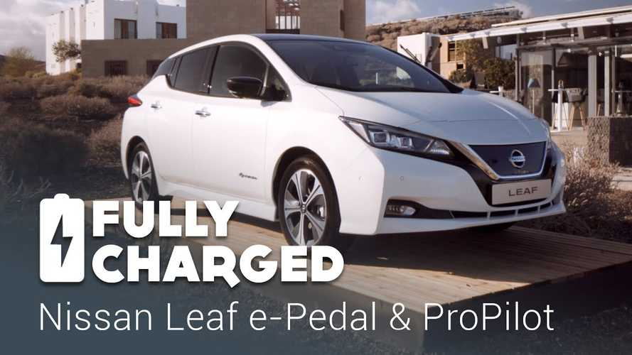 New Nissan LEAF e-Pedal & ProPilot Overview- Fully Charged