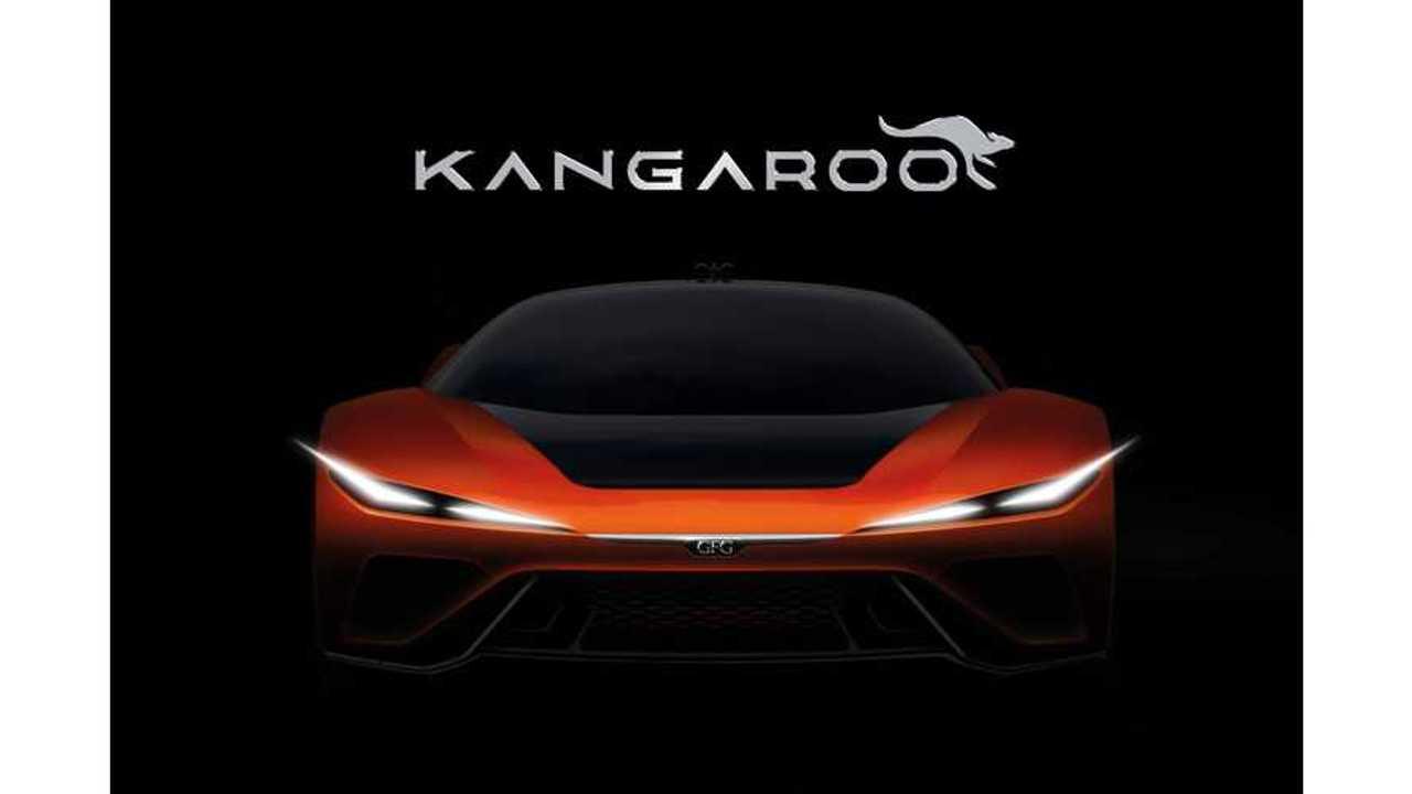 GFG Teases Kangaroo Electric Hyper-SUV Ahead Of Geneva