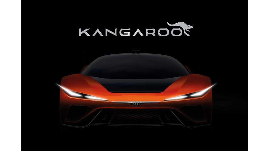 GFG Teases Kangaroo Electric Hyper-SUV Ahead Of Geneva