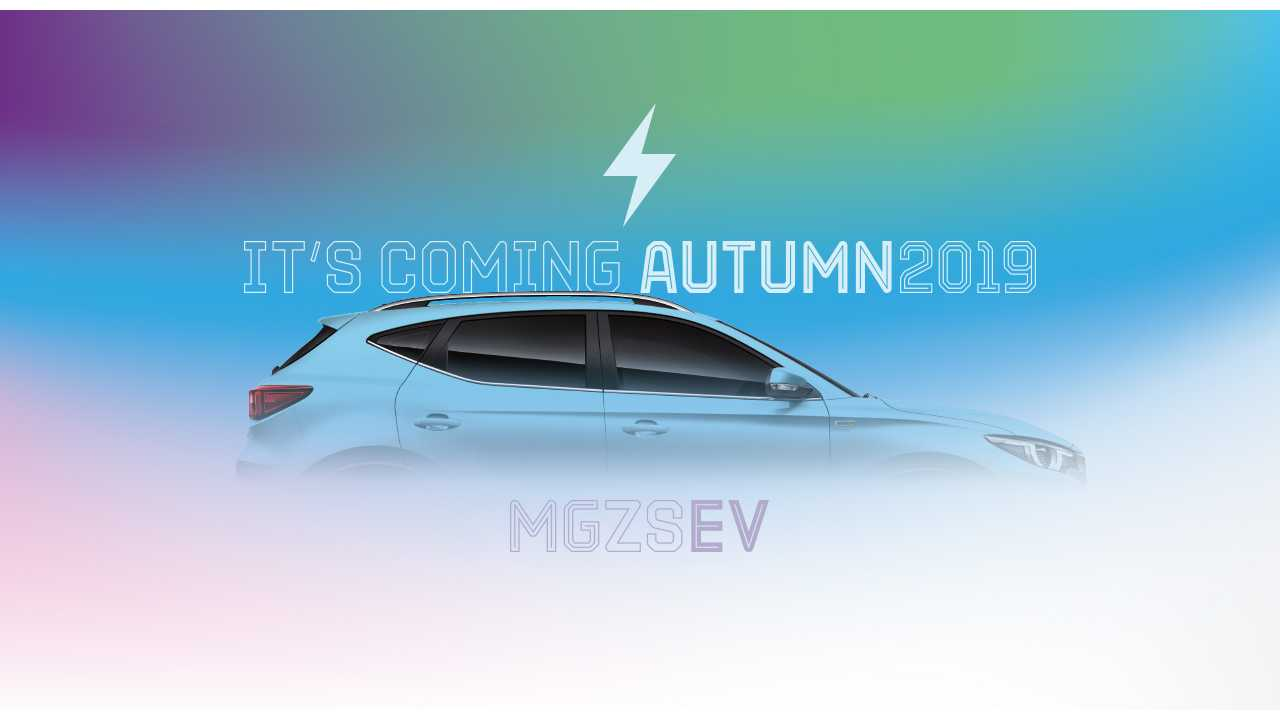 MG Goes Electric In UK With ZS Compact SUV/Crossover