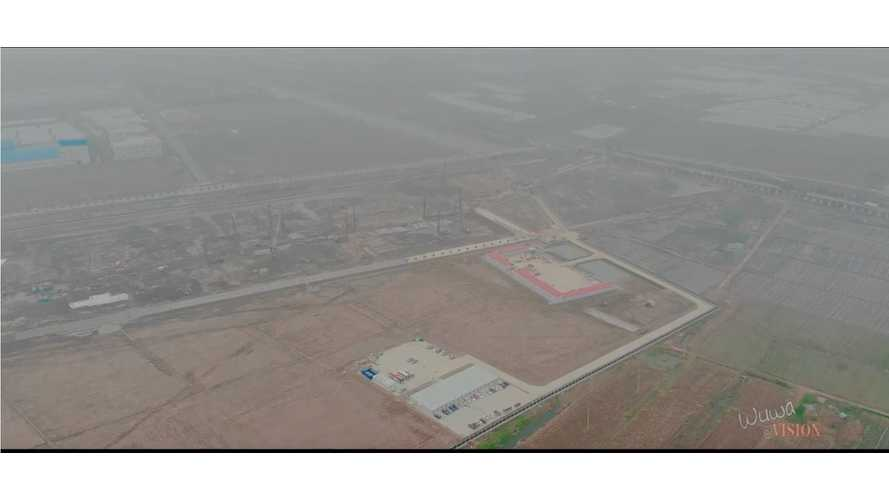 Aerial View Update On Tesla Gigafactory 3 In China: Videos