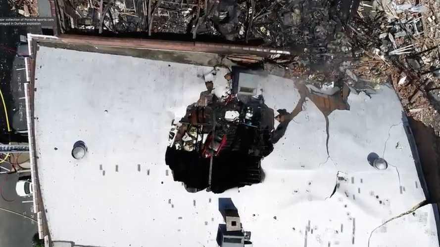 Porsche Collection Destroyed in Explosion
