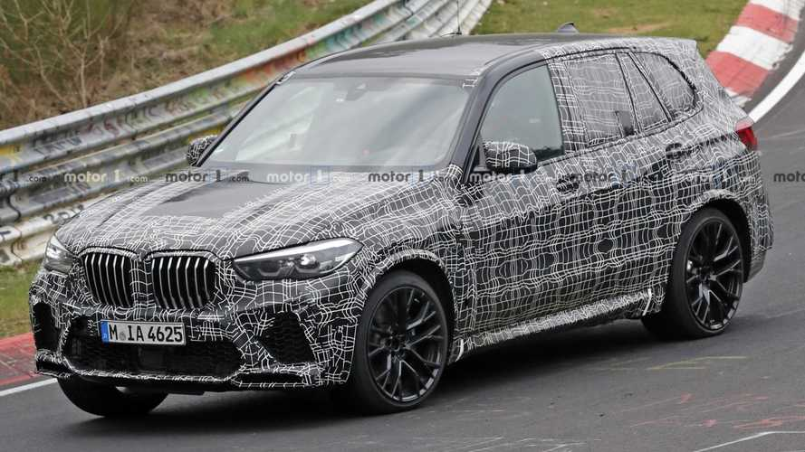 New BMW X5 M Spied Looking Menacing At The Nurburgring