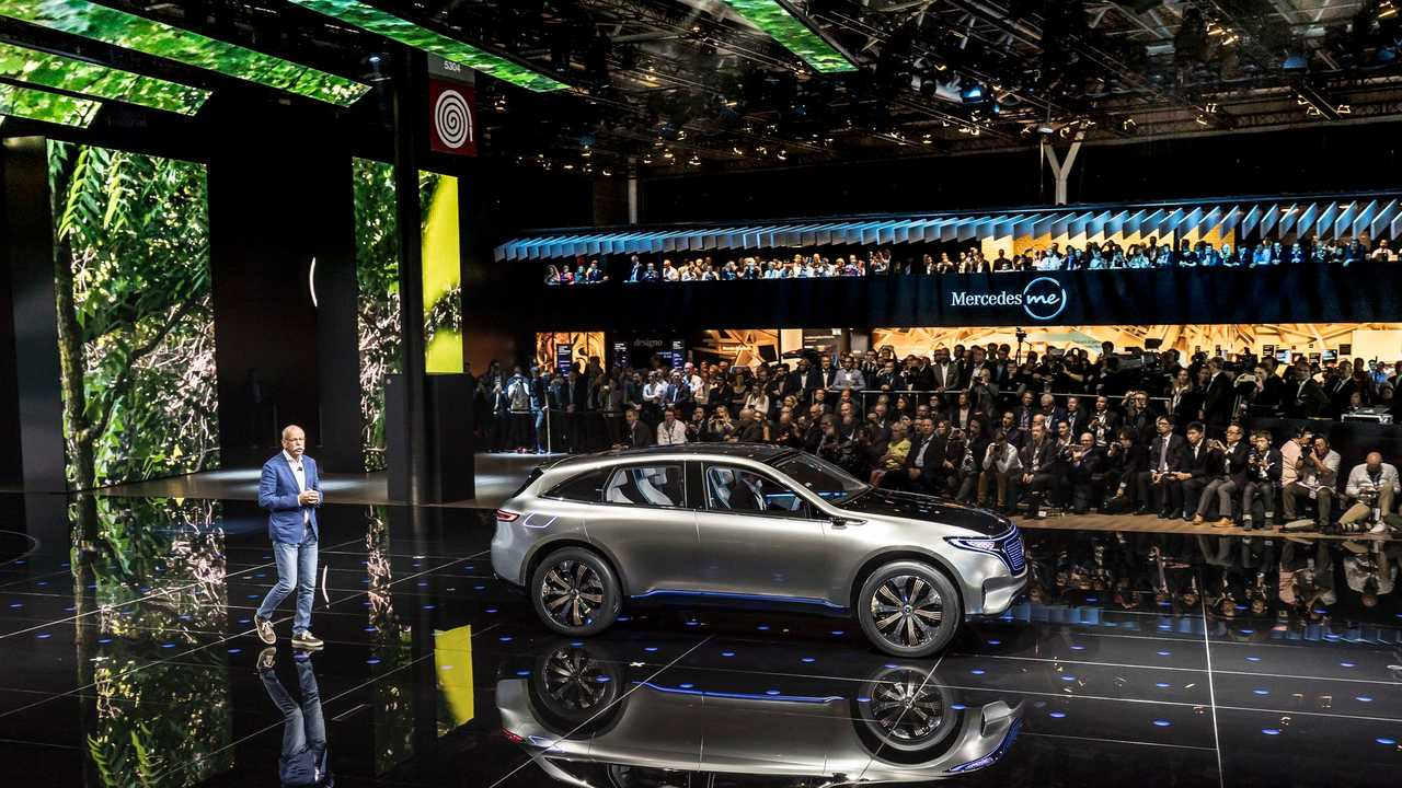 Mercedes Selects Sindelfingen Factory For Production Of Its EQ-Branded EVs In 2019
