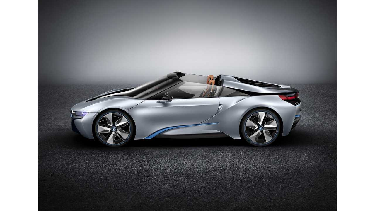 BMW i8 Roadster Confirmed For 2018 Launch