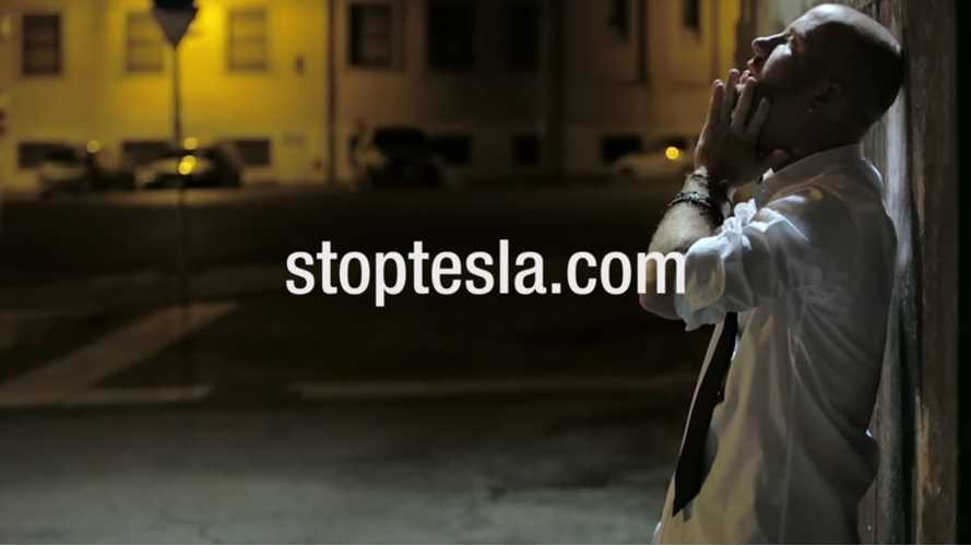 Satirical Stop Tesla Campaign Pops Up ... and it's epic!