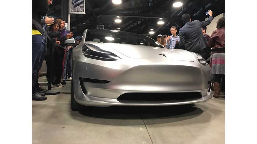 Will The Masses Be Enamored By The Tesla Model 3?