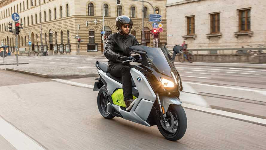 BMW C Evolution Electric Scooter Finally Coming To U.S., Pricing Announced