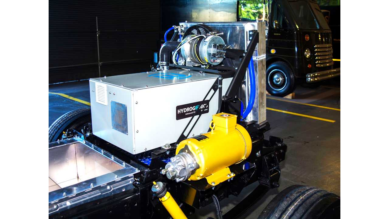 Fuel Cell Electric Vehicle Chassis