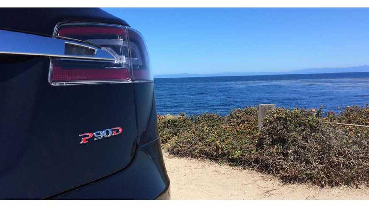 Tesla Model S P90D Ludicrous Mode Reactions + Launch Video