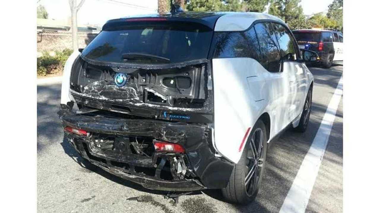 BMW i3 vs Cadillac CTS - Impact Results