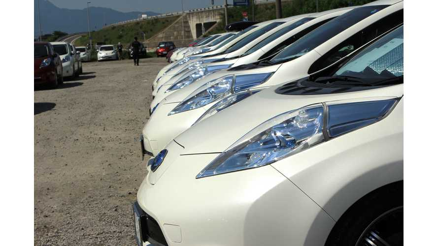 Nissan LEAF Sales Continue To Struggle In August Against Future Self