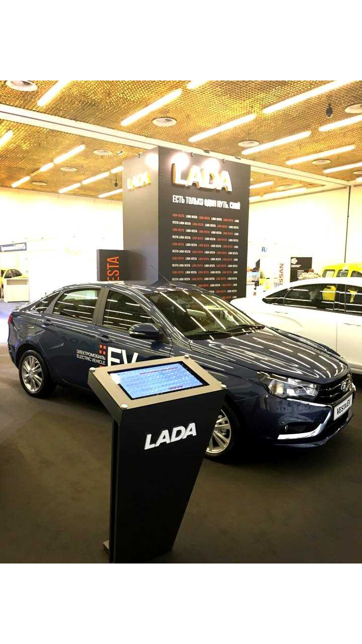 Lada Puts The Plug-In World (of 2006) On Notice With The Vesta EV