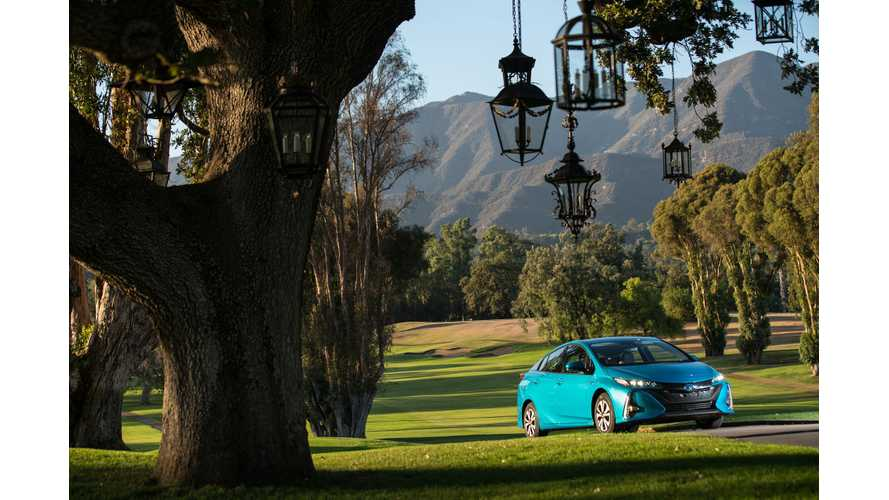 Toyota Prius Prime Selected As 2017 Best Buy In The Hybrid/Electric Category