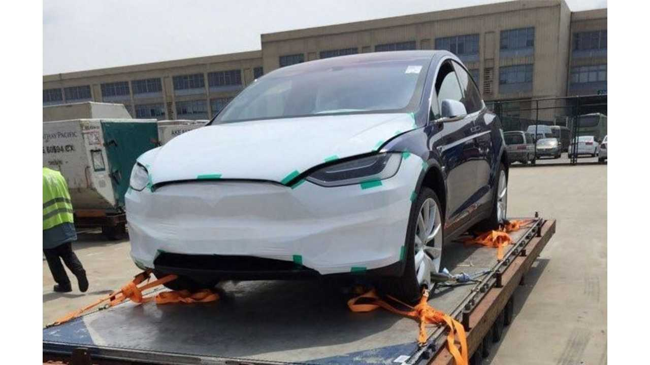 Tesla Model X Arrives In China
