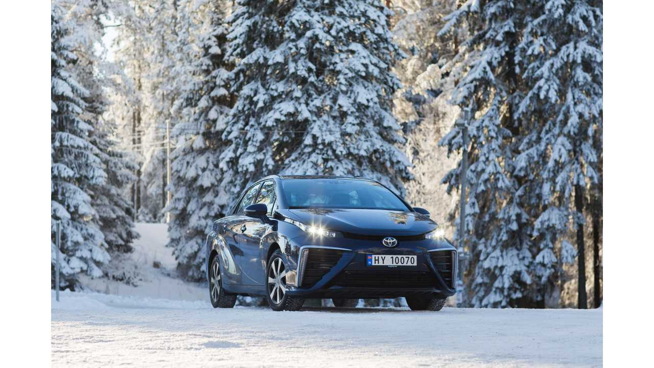 Toyota Mirai To Launch In Norway, Sweden & The Netherlands Later This Year
