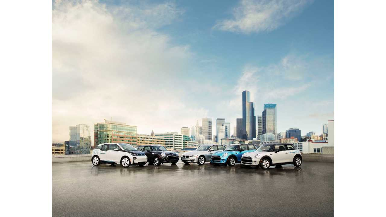 BMW i3 Included In BMW's ReachNow Car Sharing Service In Seattle