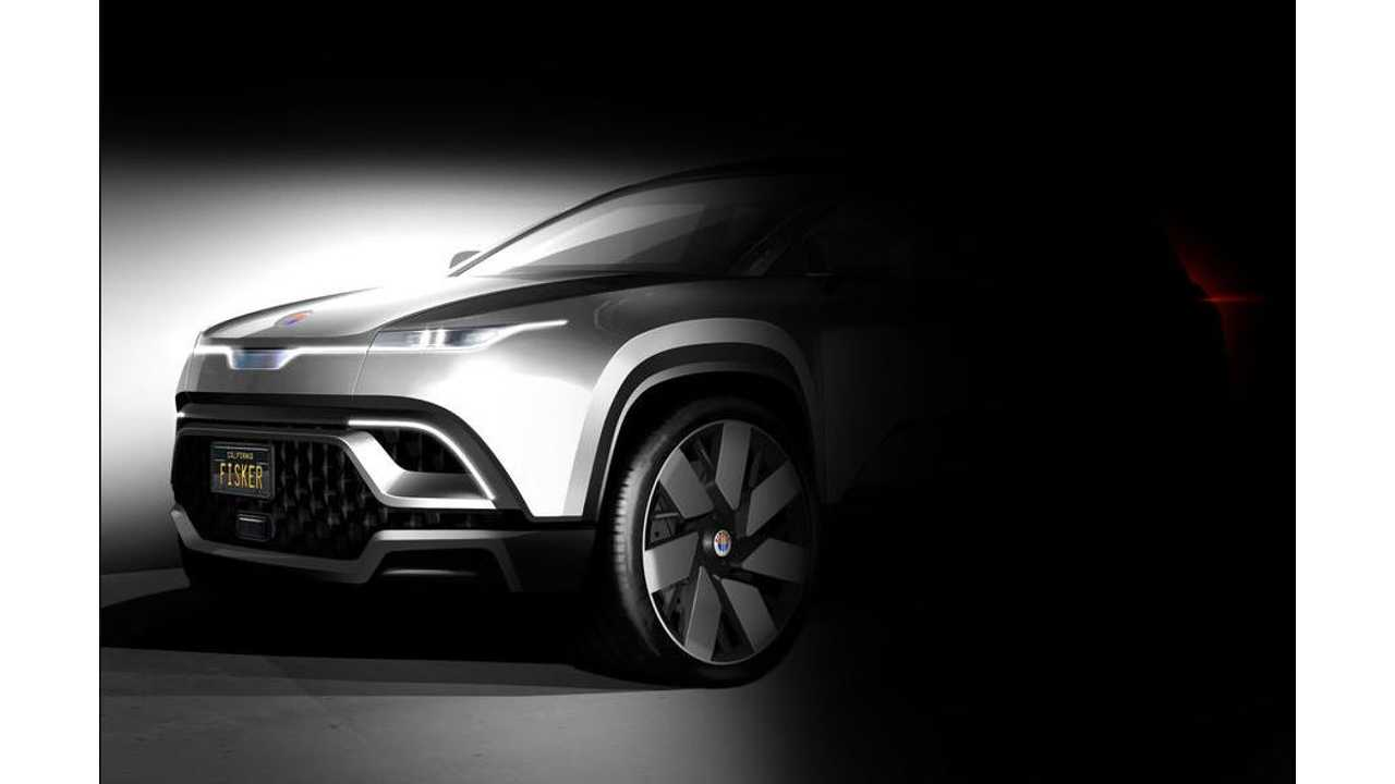 Fisker Releases New Electric SUV Teaser