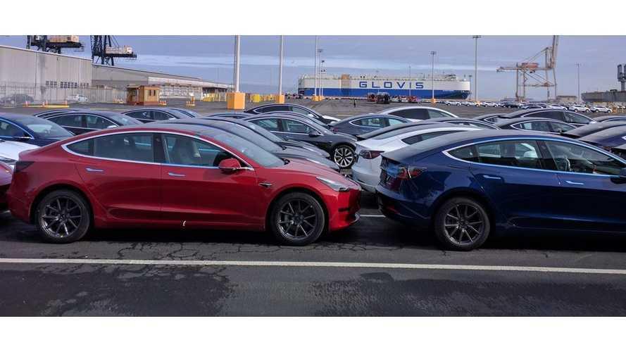 In February, Tesla Model 3 Was Best-Selling EV In Belgium