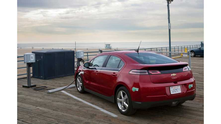 Chevrolet Volt Is Most Loved