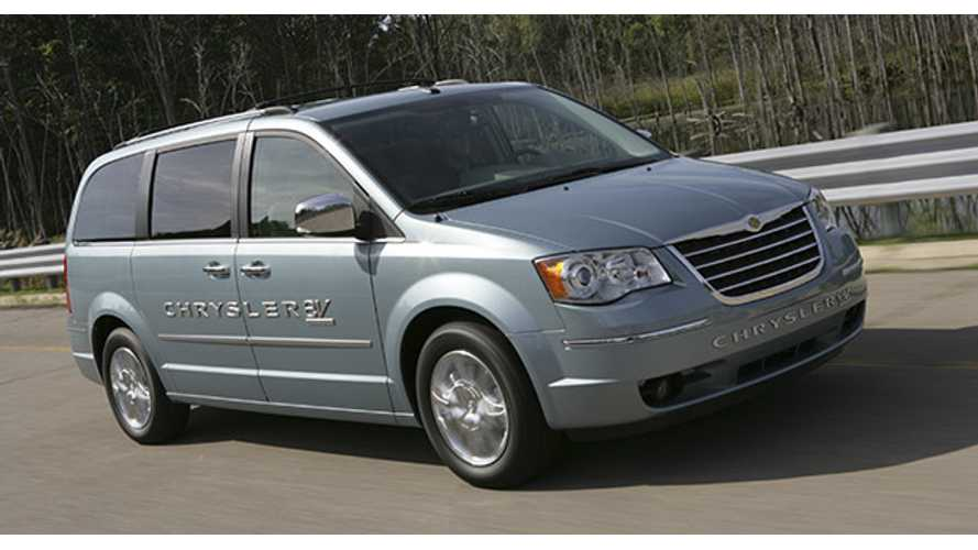 Chrysler Plug-In Hybrid Minivan Expected To Debut At 2016 NAIAS