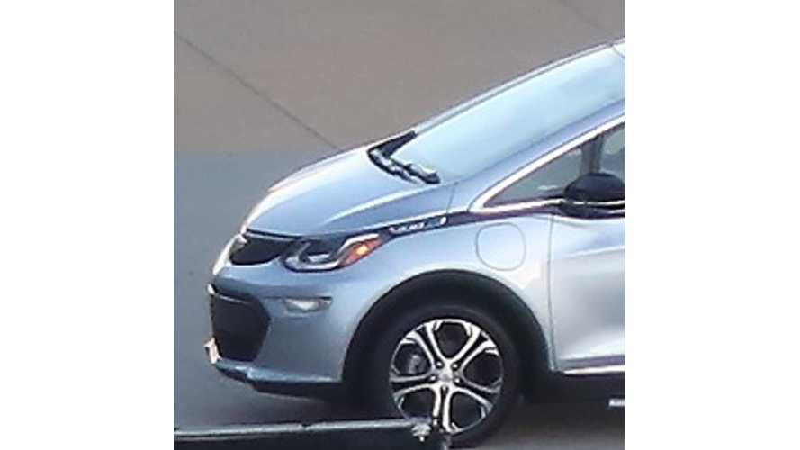 Photos Of Production 2017 Chevrolet Bolt Surface Before 2016 CES