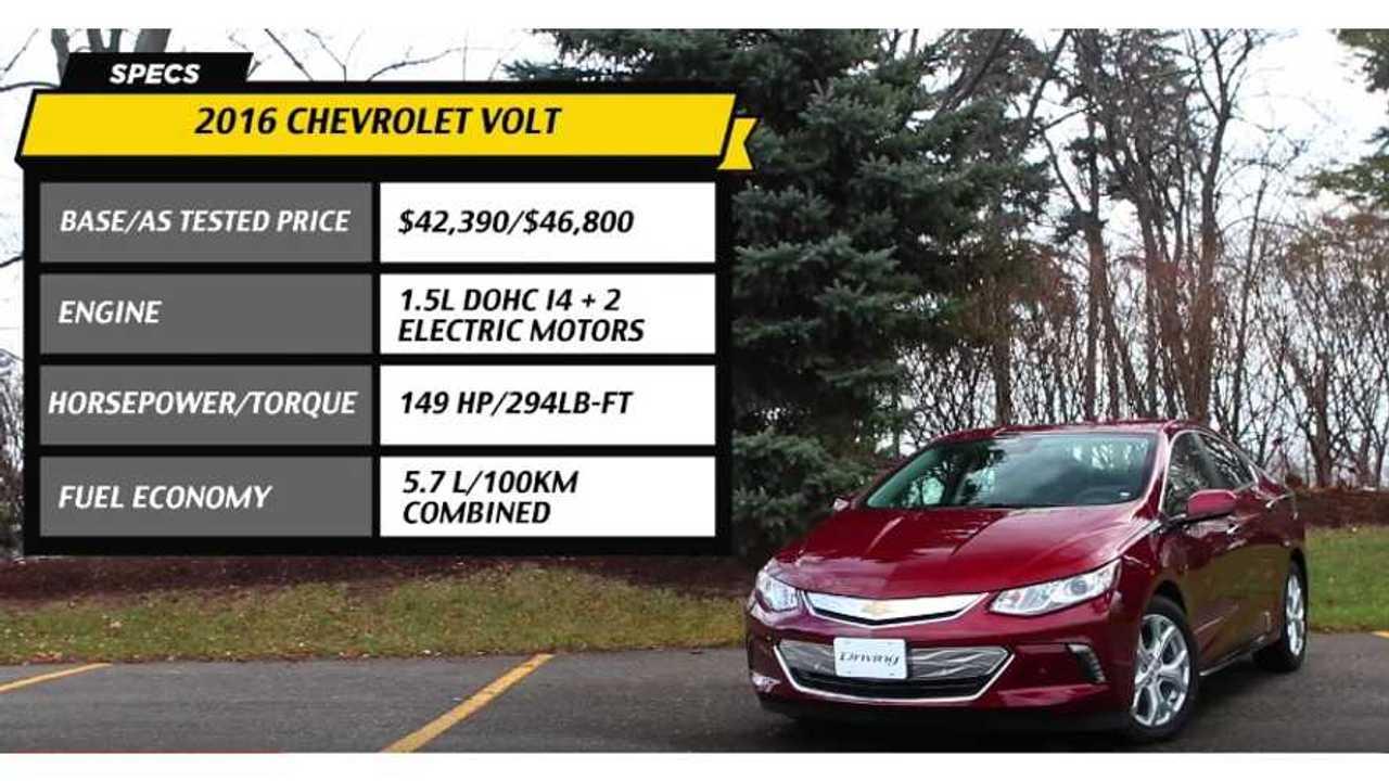2016 Chevrolet Volt   Driving.ca