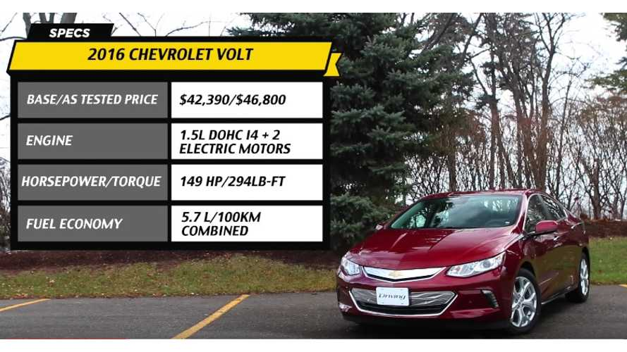 2016 Chevrolet Volt Video Review