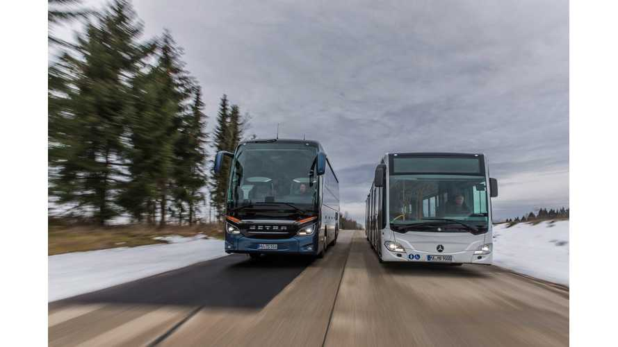 Electric And Hydrogen Mercedes-Benz Citaro Buses On The Road By 2018