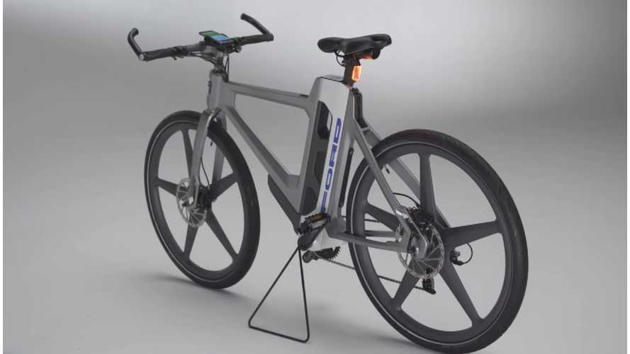 Ford MoDe:Flex Electric Bicycle (w/video)