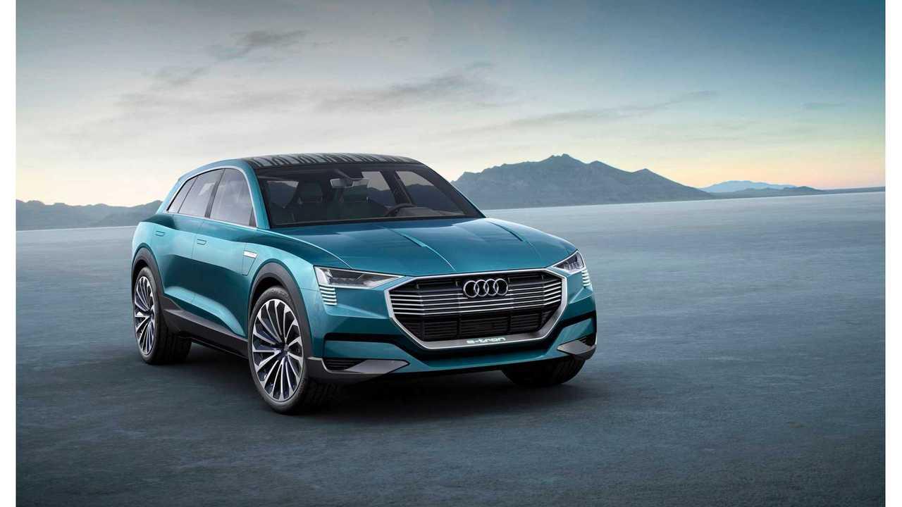 Audi Q6 e-tron To Be Built In Belgium In 2018