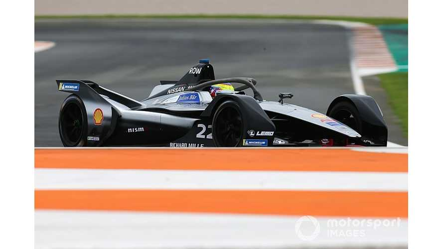 Nissan Had 20 Approaches For Now-Abandoned Albon Formula E Spot