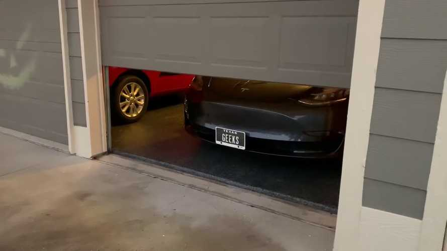 On Halloween, Even The Dead Drive A Tesla Model 3