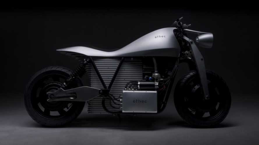 Students Design This Ethec 250-Mile Electric Motorcycle