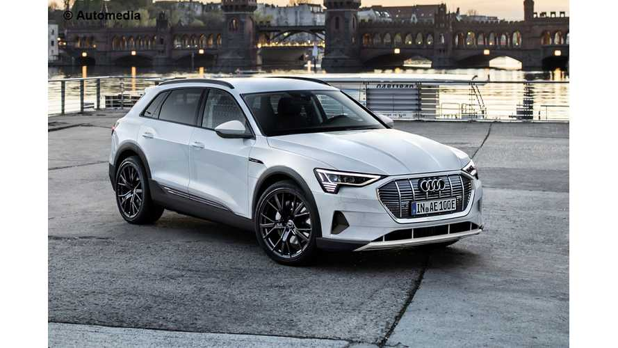 Rendering Shows What Production Audi E-Tron May Look Like