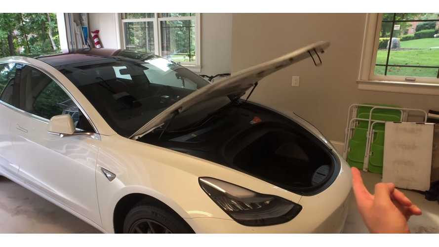 Check Out This Auto-Lifting Tesla Model 3 Frunk