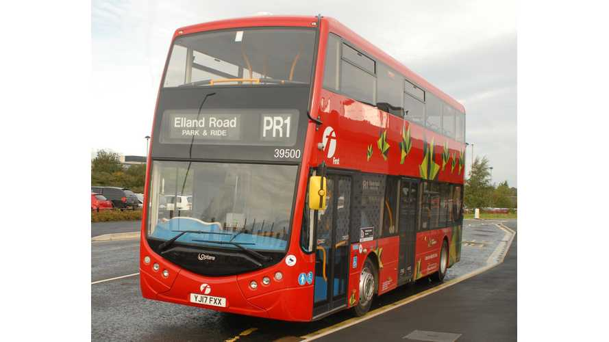 Check Out This Optare Metrodecker EV Double-Decker Bus